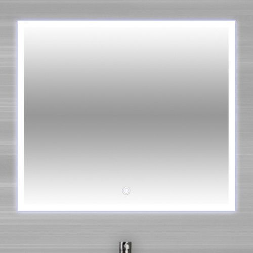 Found it at Wayfair - Encore Touch/Sensor Activated LED Vanity Mirror 23.7 X 23.7 W $459.99 Guest