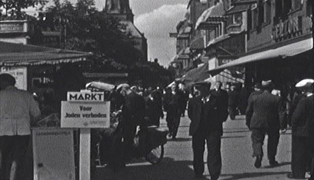 Groningen 1940-1945 Vismarkt