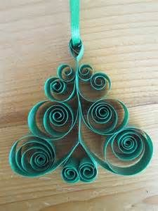 Quilled Christmas Tree Holiday Ornament by GrandFinaleArt on Etsy, $7 ...