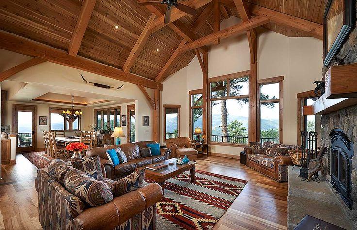 Dream Mountain Home Plan - 12933KN | 1st Floor Master Suite, Butler Walk-in…