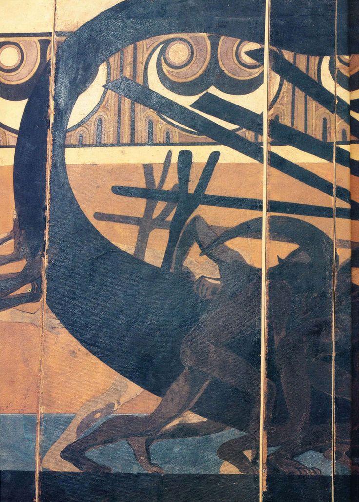 Duilio Cambellotti, pannello di scena per Medea 1927