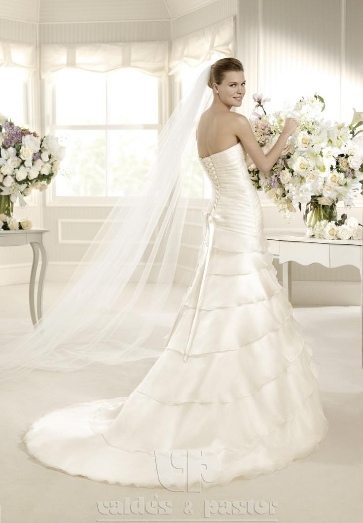120 besten VESTIDOS DE NOVIA Bilder auf Pinterest | Hochzeitskleider ...