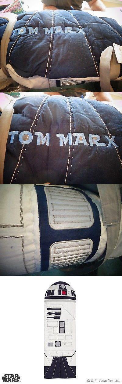 Sleeping Bags 48091: Pottery Barn Kids R2d2 Sleeping Bag Star Wars Mono Tom Marks New -> BUY IT NOW ONLY: $99.99 on eBay!