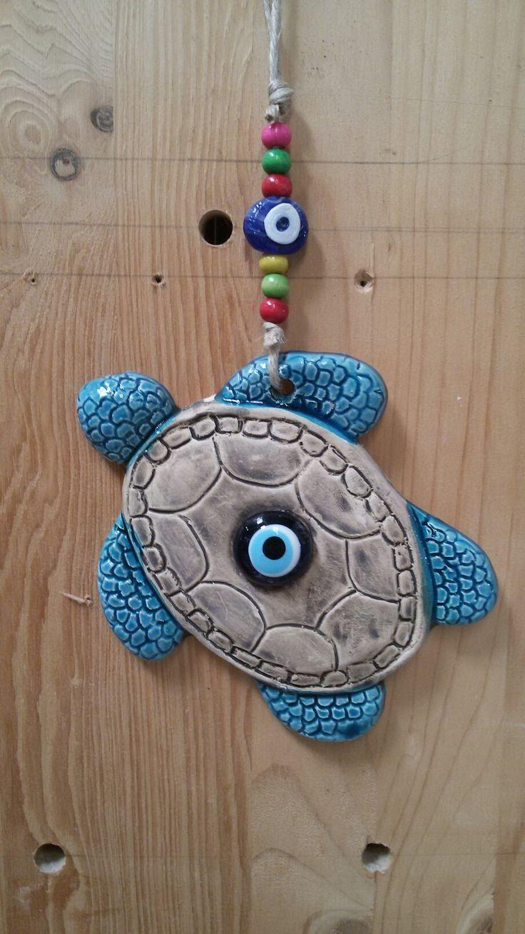 Turquoise Turtle  #elyapımı #turkuaz #kaplumbağa #elifseramik #seramik #turtle #turquoise