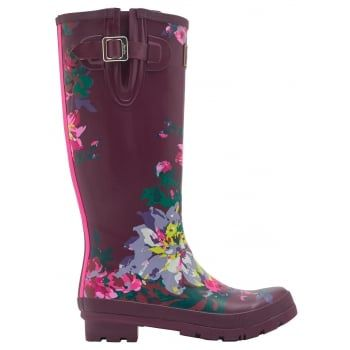 From nautical stripes and detailed florals to scenes that sing of our country heritage. Wherever you're tackling the great British weather Joules new printed wellies will make sure you stand out from the crowd. http://www.marshallshoes.co.uk/womens-c2/joules-womens-wellyprint-tall-printed-burgundy-bloom-boot-p4157
