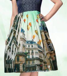 Buy Multicolor georgette embroidered kurti kurtas-and-kurti online