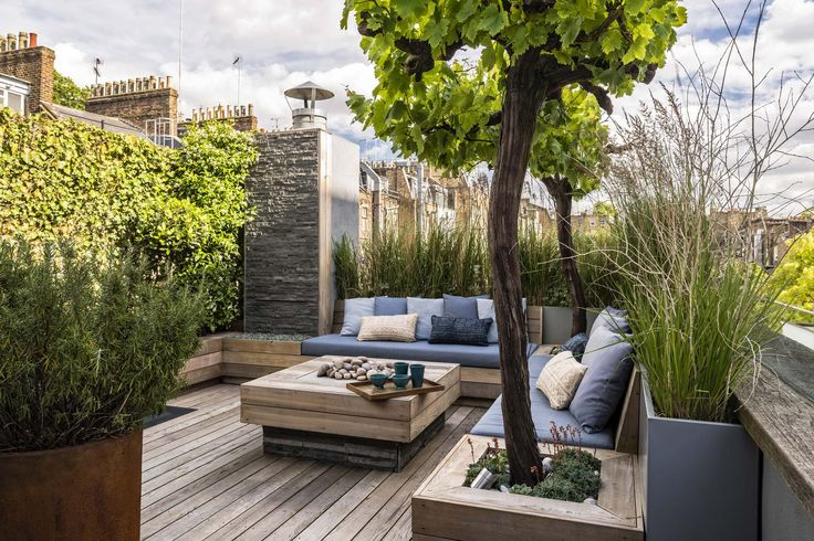 adolfo harrison / rooftop residential garden, notting hill