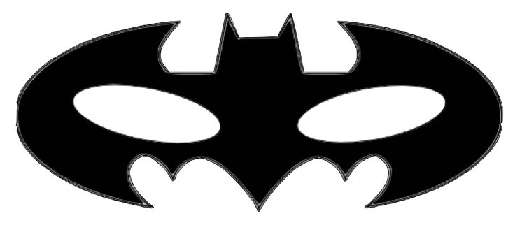 Massif image throughout batman mask printable