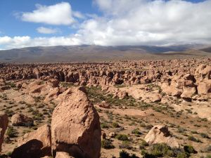 Rock Valley, after the Uyuni Salt Flat