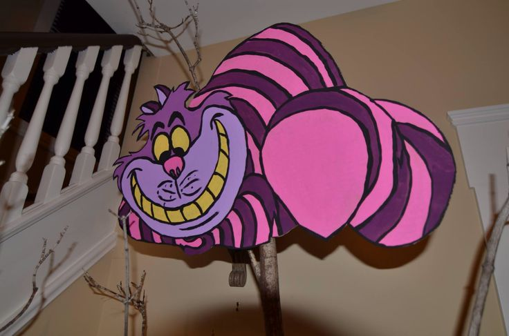 Cheshire Cat in the tree