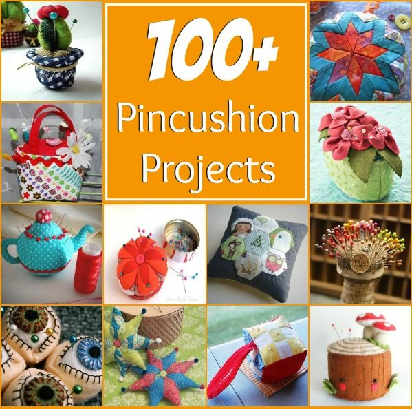 Okay, I know, I've said it before but I have an obsession for pincushions. So, to help bring you over to my side of the line, I have surfed the wide and gathered up some of the most Ah-Maz-Ing fre...