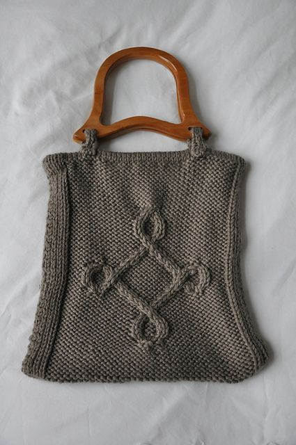 Ravelry: SusanneS-vV's Cable Bag