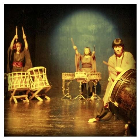 programma: spettacolo delle Taiko!