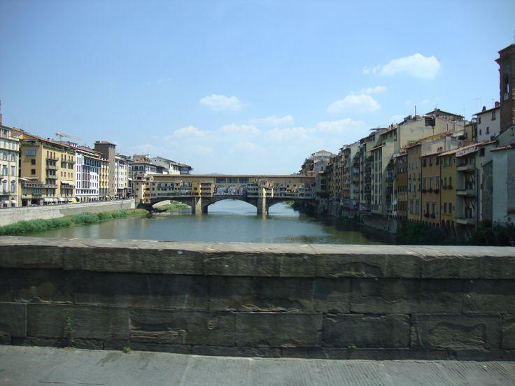 Florence / Tuscany, Italy - Mediterranean Cruise - Ponte Vecchio
