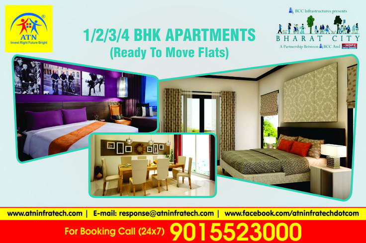 Bharat City Phase2 launched by BCC Group in Ghaziabad. Bharat City offers 2/3 BHK luxury Apartments at best prices with modern amainities  . for mor edetails please visit us at http://www.atninfratech.com/bharat-city-ghaziabad