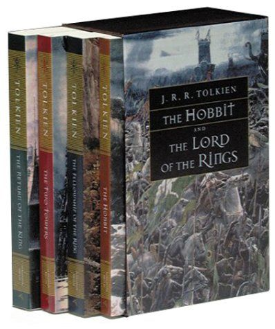 The Hobbit and The Lord of the Rings by J. R. R. Tolkien http://www.amazon.com/dp/0618002251/ref=cm_sw_r_pi_dp_suSMtb12MG9HW4HW