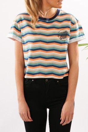 Santa Cruz - Classic Dot Crop Girls Tee $49.95 Shop // http://www.jeanjail.com.au/santa-cruz-classic-dot-crop-girls-tee-3.html