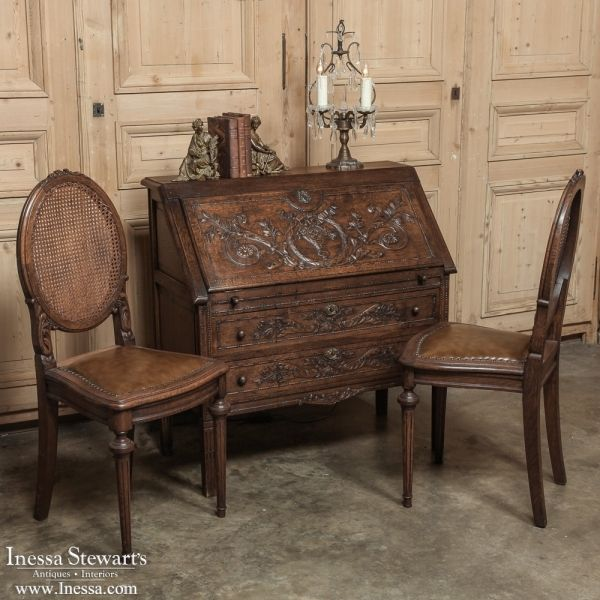 Antique Couches Pinterest: Antique Country French Secretaire