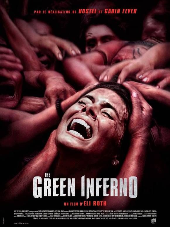 J'ai a bien flippé devant The Green Inferno réalisé par #EliRoth. http://place-to-be.net/index.php/cinema/en-blu-ray-dvd-et-vod/3484-the-green-inferno-ecrit-et-realise-par-eli-roth