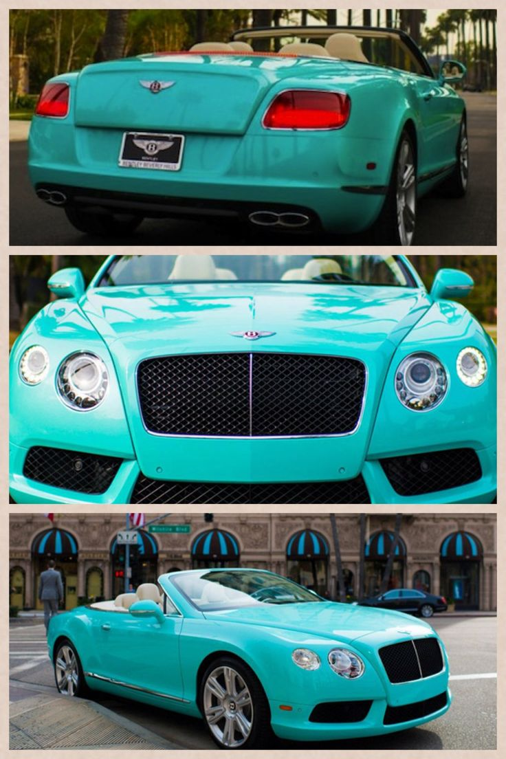 2013 bentley continental gtc beverly hills edition is dressed in tiffany bluethis is literally my dream car