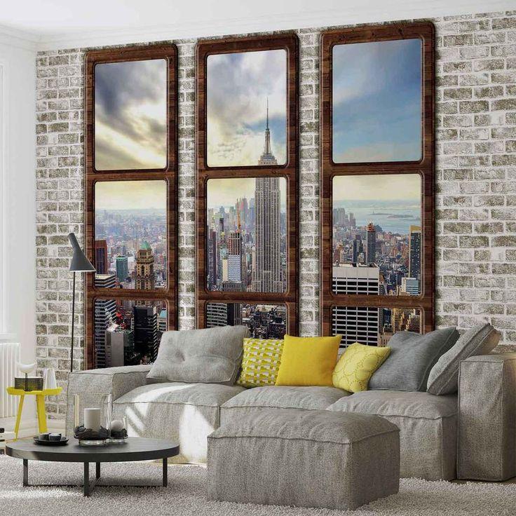 The 25 best 3d wallpaper ideas on pinterest grey for Decor mural xxl 4 murs