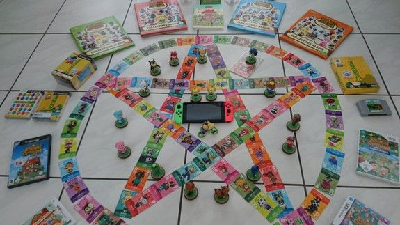 Animal Crossing Fans Arranged Their Merch Into Pentagrams To Summon A New Game And It Kind Of Worked Animal Crossing Funny Animal Crossing Animal Crossing Memes