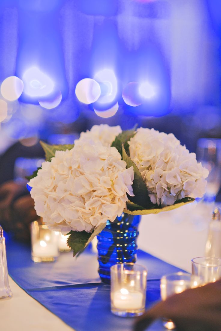 Royal blue and champagne wedding colors