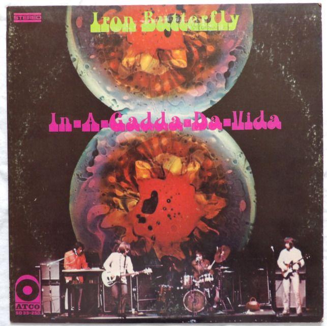 IRON BUTTERFLY - IN-A-GADDA-DA-VIDA    YEAR: 1968  LABEL: ATCO  Vinyl Lp - USA  #HardRockPsychedelicRock