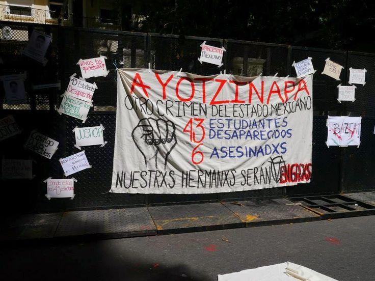 8 OCTUBRE: CONCENTRACIÓN EN LA EMBAJADA DE MÉXICO EN ARGENTINA.