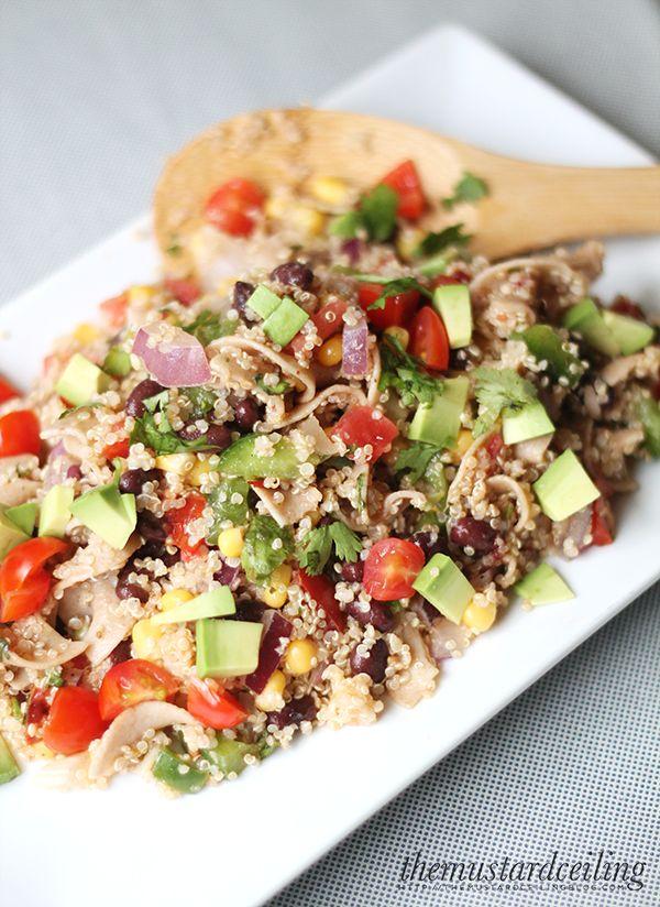 Tasty Thursday! Southwestern Quinoa Salad | The Mustard Ceiling blog