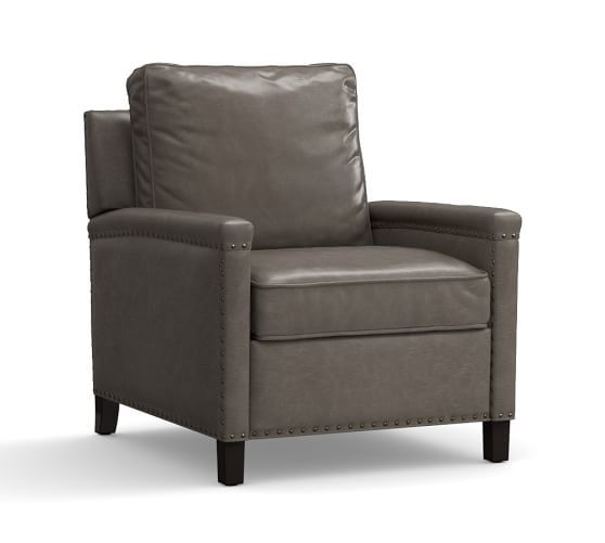 Tyler Leather Recliner | Pottery Barn