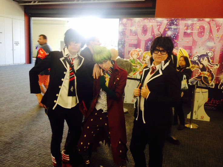 Very bad lighting I'm so sorry but blue exorcist