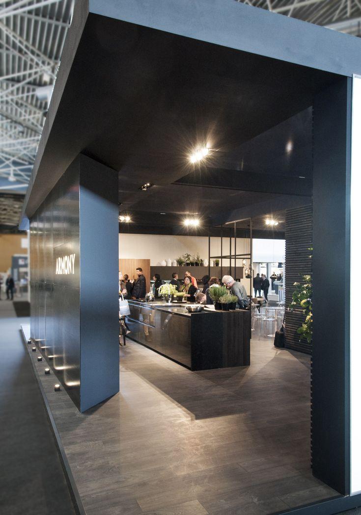 Armony cucine @ SADECC 2017, LYON - Photo gallery #armonycucine #madeinitaly #interiordesign #kitchen #kitchendesign #interior #cuicines @cucine #exhibitions #axhibition #fair