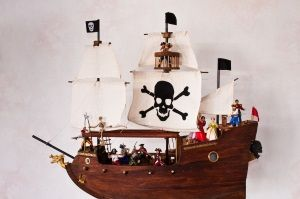 A pirate ship I made