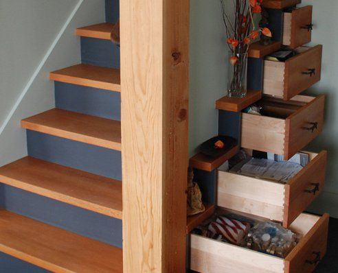 25 best ideas about Stair drawers on Pinterest Stair
