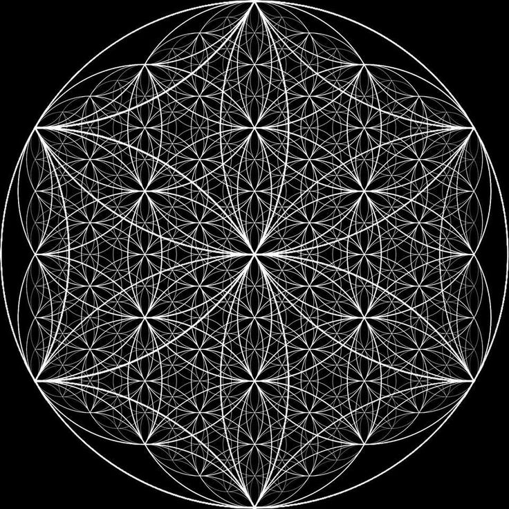 Sacred Geometry. Flower Of Life More Pins Like This At FOSTERGINGER @ Pinterest