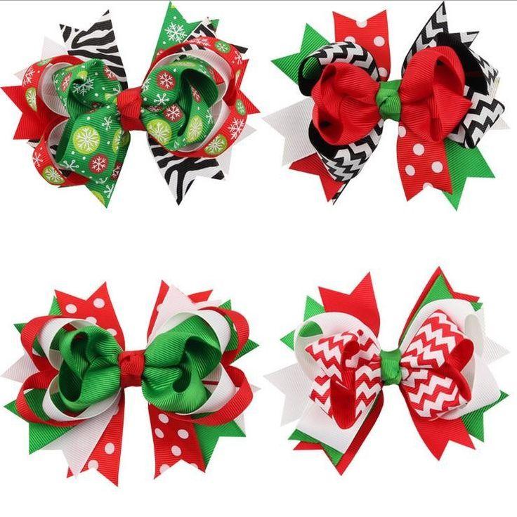 Aliexpress.com : 신뢰할수 있는 크리스마스 장식 디스플레이 트리 공급업체Princess Yi Xuan에서 페타 크리스마스 활 머리 장식 머리 핀의 자형 한국 어린이 아기 머리 장식품 크리스마스 장식품을 구매합니다.