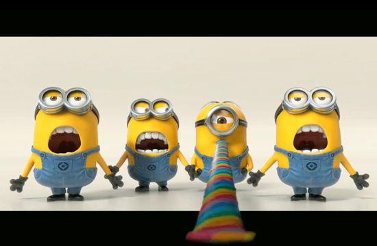 Despicable Me 2- banana!!!!!