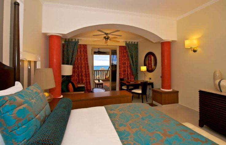 The suites at the Iberostar Rose Hall Resort.  To book your stay at the Iberostar Rose Hall Resort, speak to one of our Vacation Specialists at 1-888-685-6888 or read our blog for more: http://ow.ly/EH7q1.