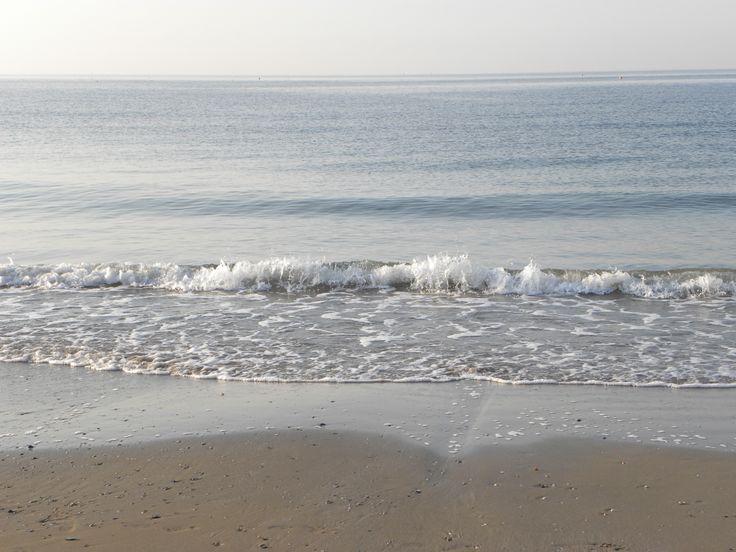 vorrei essere come il mare che spinge le sue onde sulla spiaggia, che ce la mette tutta e continua a lottare.