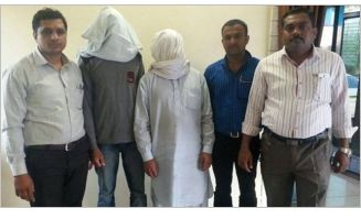 A day after the National Investigation Agency (NIA) released sketches of two suspected Lashkar-e-Taiba terrorists involved in the terror attack on BSF convoy in Udhampur district, the special operations group (SOG) of Tapi police on Wednesday deta