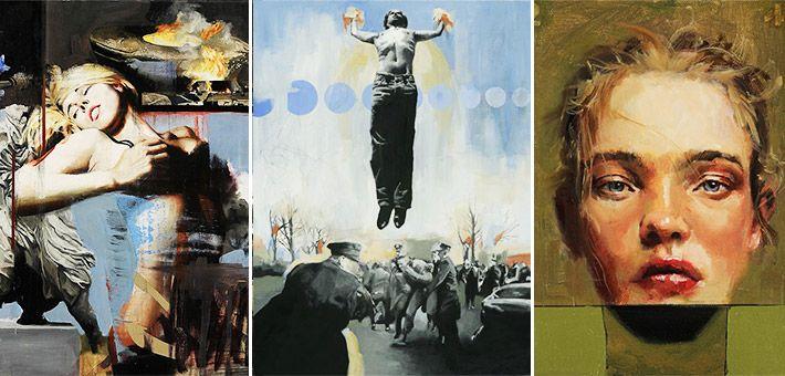 Οι ξεχωριστοί πίνακες του Adam Caldwell – Αφηρημένος εξπρεσιονισμός & κλασική αναπαράσταση