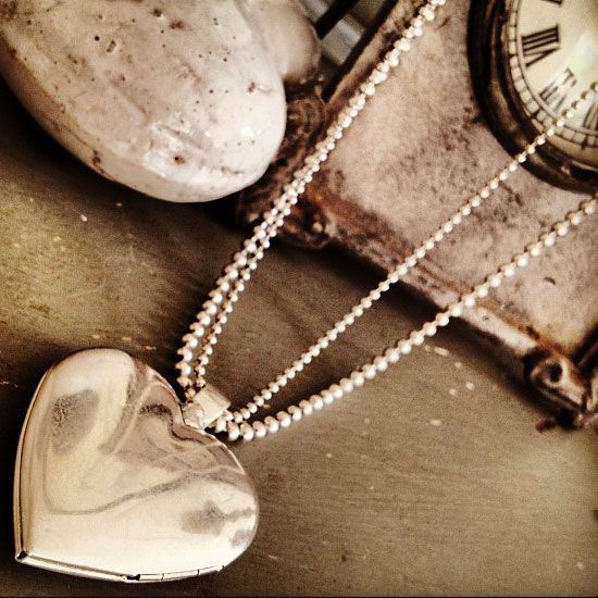 Hultquist Classic Long Silver Plated Heart Locket Necklace with Crystals | lizzielane.co.uk. http://www.lizzielane.co.uk/shop/hultquist-classic-long-silver-plated-heart-necklace-with-crystals £33