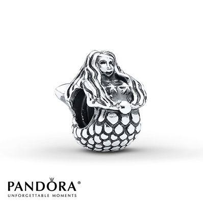 Pandora Mermaid Charm Sterling Silver... I NEED THIS