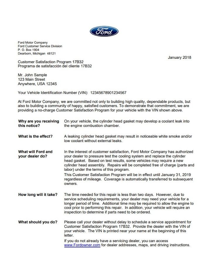 2018 01 Focus Rs Customer Satisfaction Program 17b32 You Site Ford