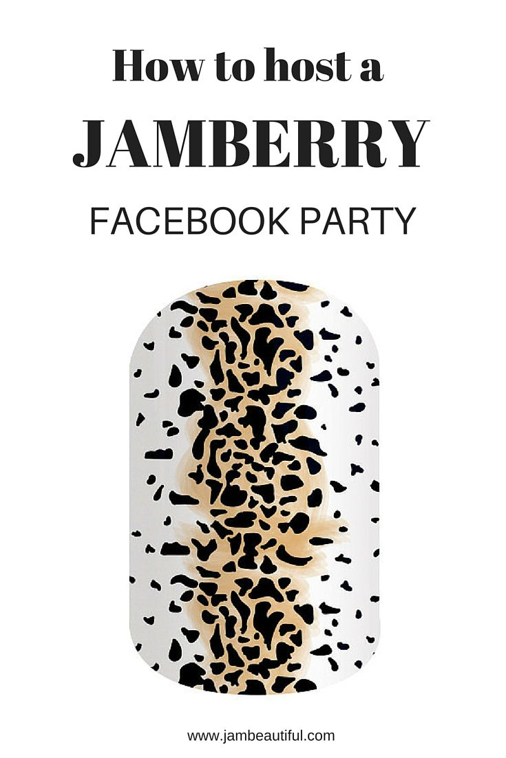 How does a Jamberry facebook party work? What are the benefits? Jamberry Australia