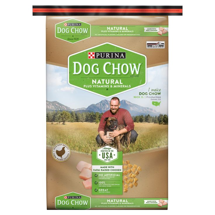 Purina Dog Chow Natural Plus Vitamin and Minerals Dry Dog Food - 32lbs
