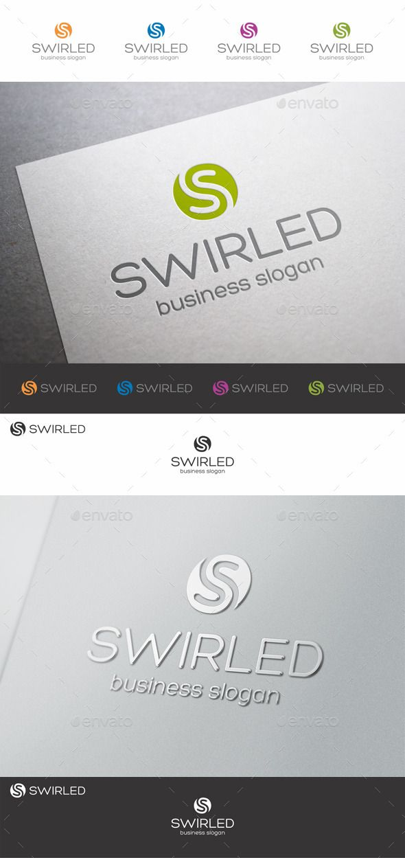 Swirled S Letter Logo - S Letter Logo Template – Unique Logo Emblem for Your successful business solution! An excellent logo template suitable for music production company, technology, communications, software development businesses, media, design agencies, video developers, marketing, print and photography businesses. Ideal logo for business companies, financial corporations etc. Also suitable for any web startup projects, social communities, e-shops, search systems etc.