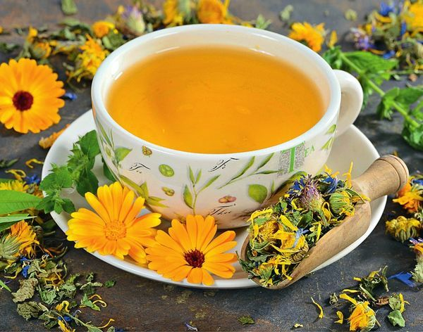 потогонный чай