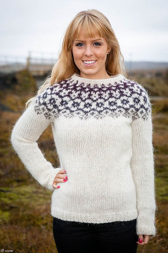 Icelandic Lopi Sweater  Winter is coming by unneva on Etsy, $160.00